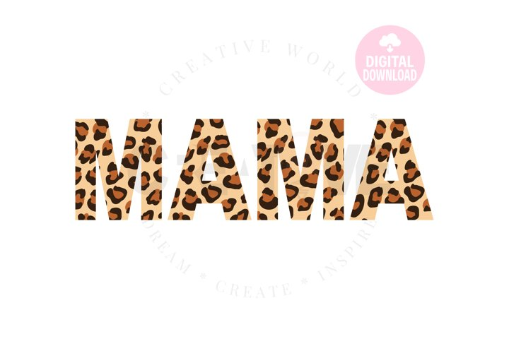 Mama Leopard sag   Mama svg   Leopard svg   Mama svg