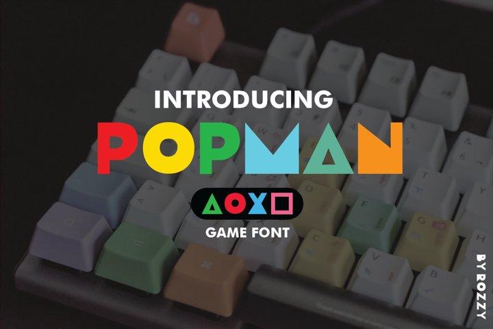 Popman Game Font