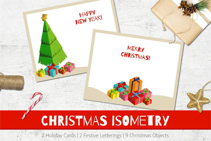 Christmas Cards | Isometry Objects