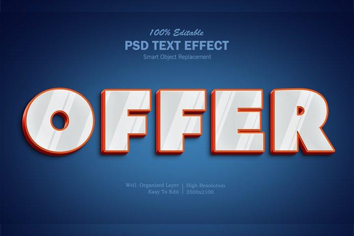 Offer Text Effect