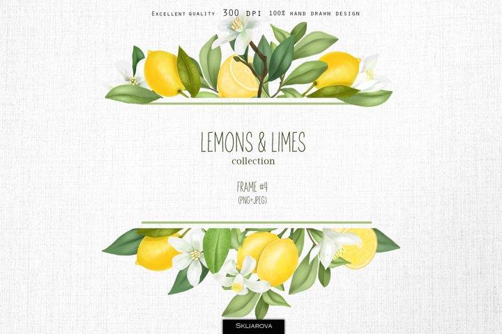Lemons & limes. Frame #4.