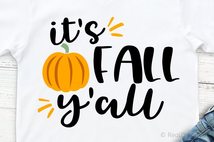 Its Fall YAll SVG, DXF, PNG, EPS