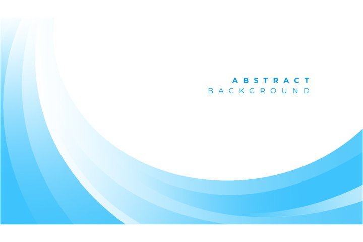 Abstract blue wavy business style background. Vector