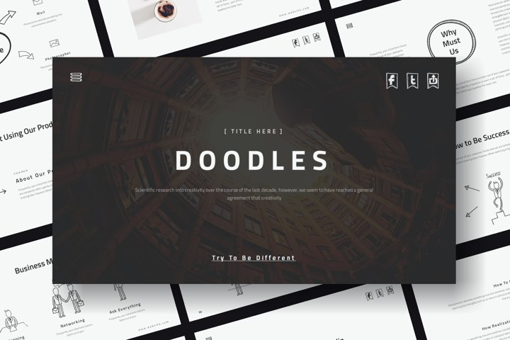 Doodles PowerPoint Template