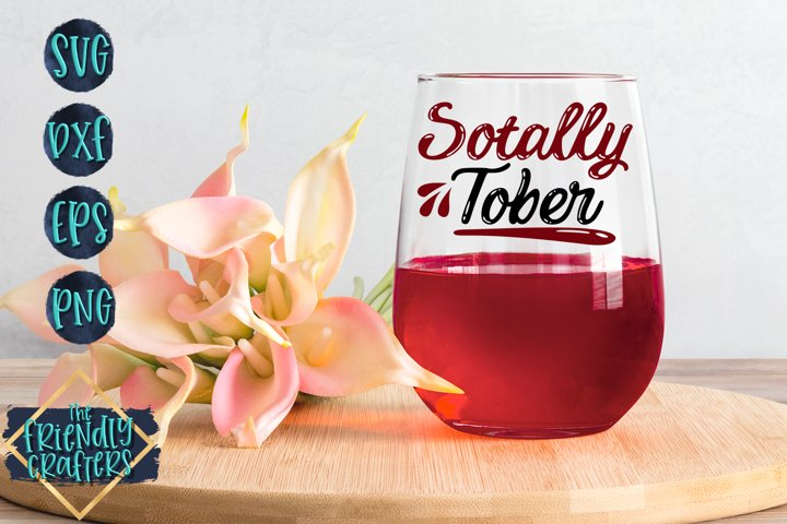 Sotally Tober - Wine SVG example 2