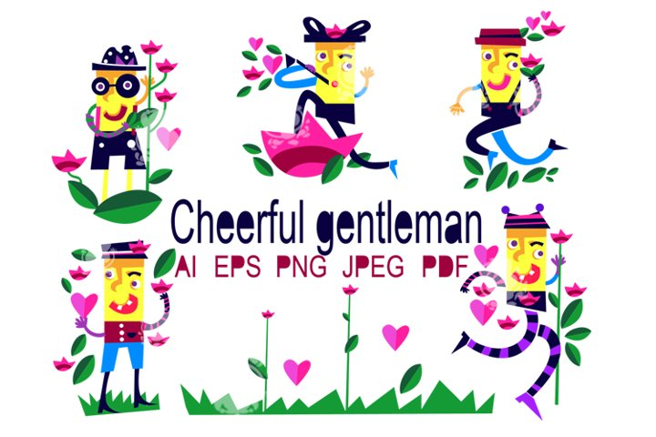 Cheerful gentleman