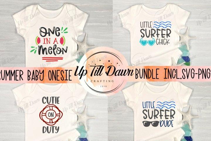 Summer Baby Onesie SVG Bundle