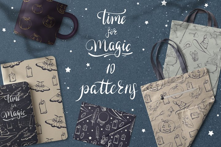 Time for magic. 10 patterns