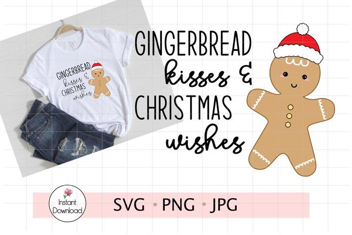 Gingerbread Man SVG, Gingerbread Man Cut File