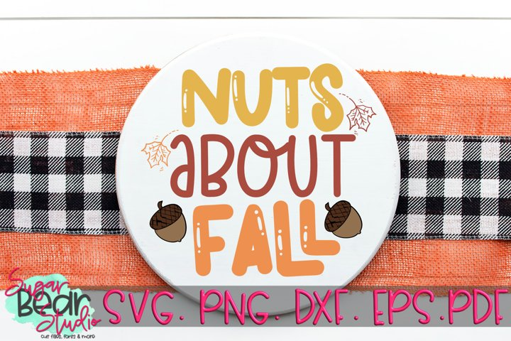 Nuts About Fall - A Fall SVG
