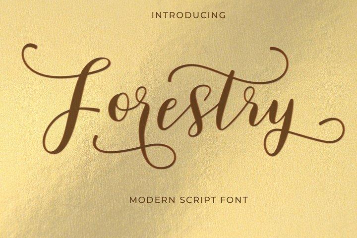 Forestry Script