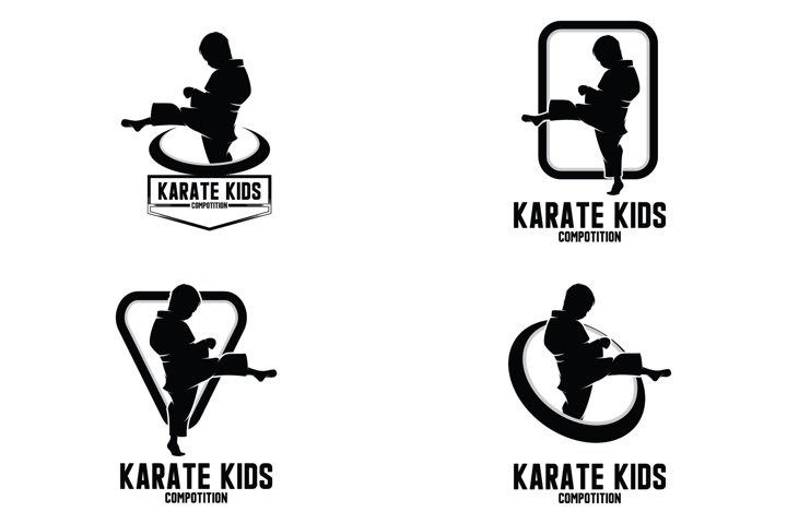 Collection of karate kids logo