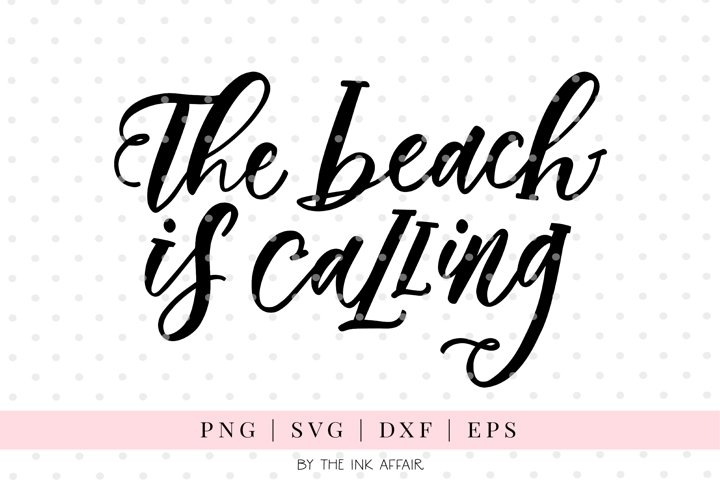The Beach is Calling SVG