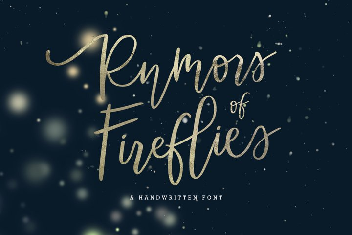 Rumors of Fireflies