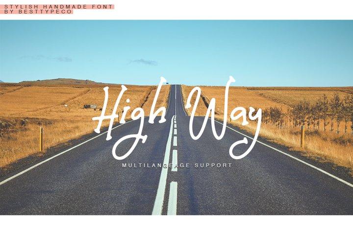High Way example 8