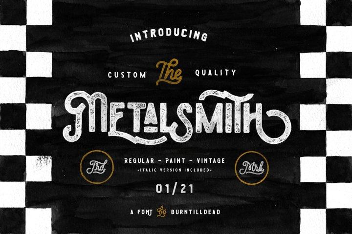 Metalsmith - Custom Culture Typeface