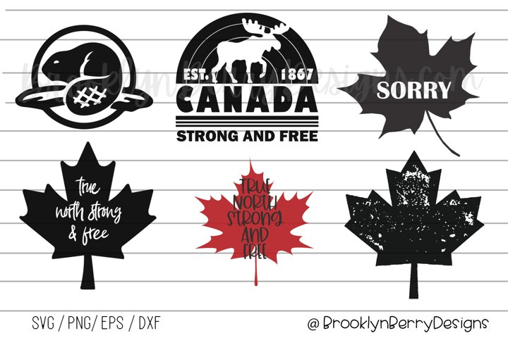 Canada Day SVG Bundle