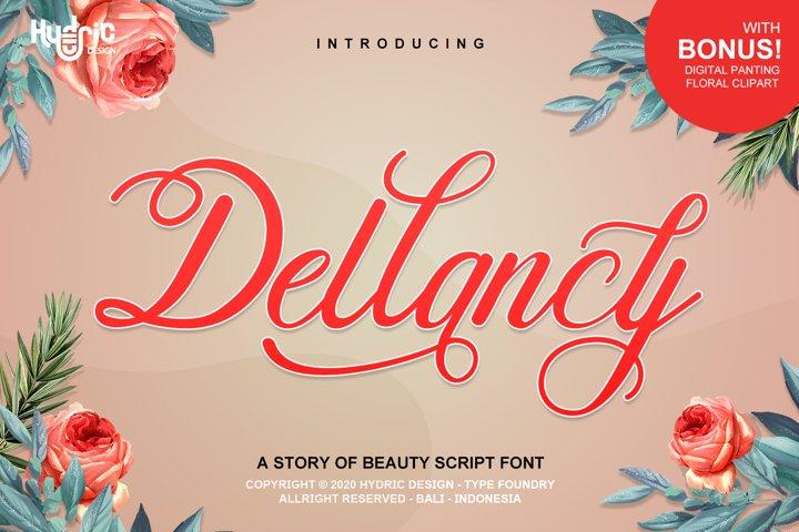Dellancy - Beauty Elegant Calligraphy