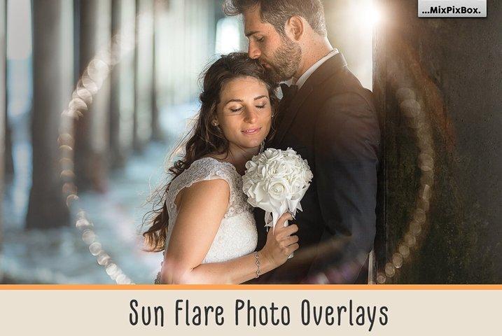 Sun Flare Photo Overlays
