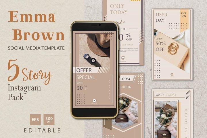 Ema Brown Instagram Story Promo