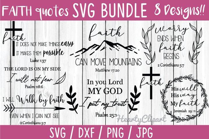 faith svg bundle, Bible verses svg , inspirational quotes