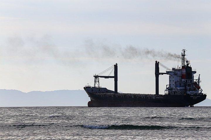 Cargo Ship ,Bulk Carrier,Oil Bulk Ore Ships at the sea