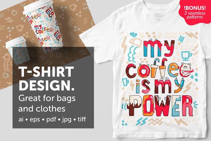 Illustration for t-shirt design