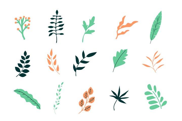 Simple vector leaves