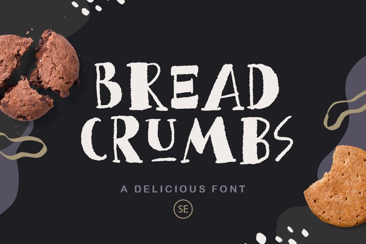Bread Crumbs - Delicious Font