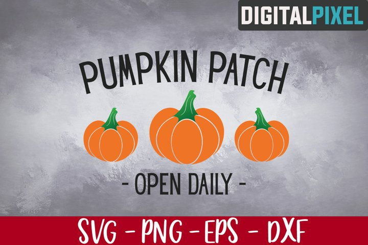 Pumpkin Patch Svg, Pumpkin Svg, Pumpkin Cut Files, Fall Svg