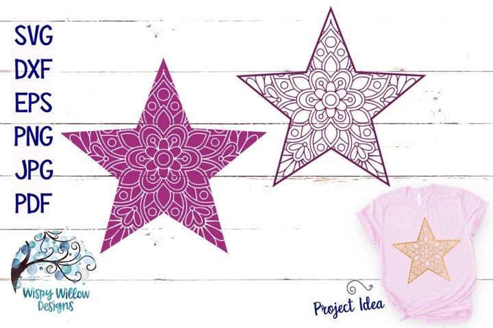 Download Free Svgs Download Star Mandala Svgs Free Design Resources
