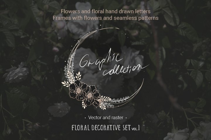 Floral decoration set vol. 1