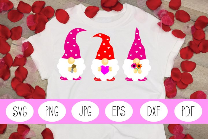 Gnome SVG | Gnome | Valentines Day SVG | Valentines Day