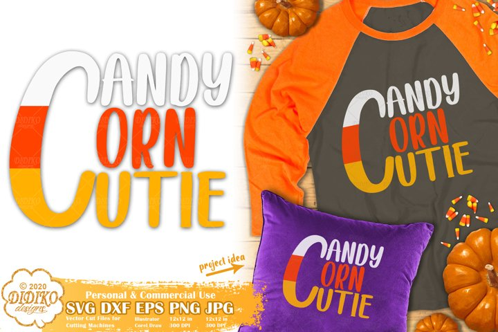 Halloween SVG | Candy Corn SVG | Candy Corn Cutie SVG