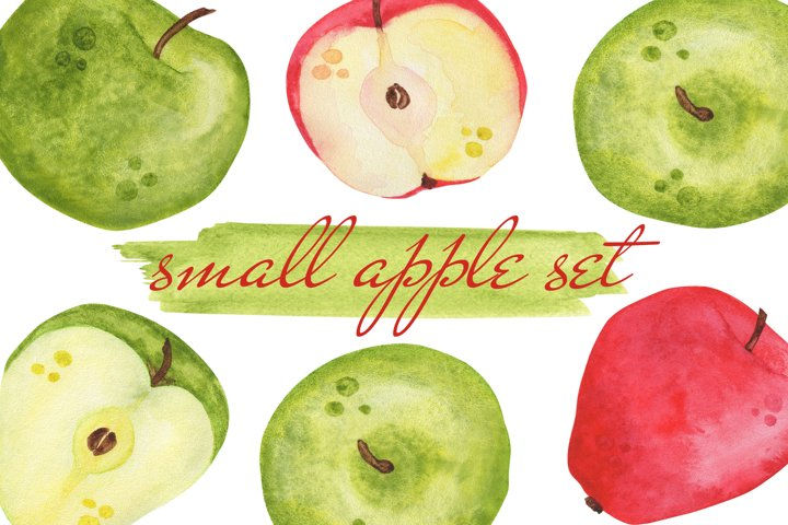 Small apple set