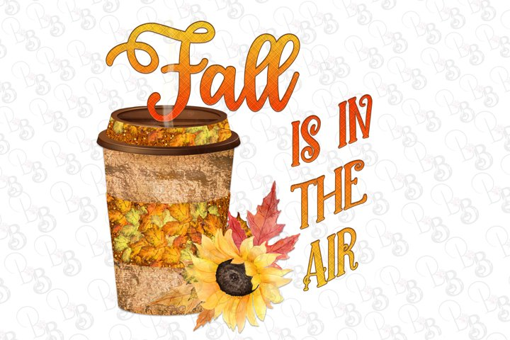 Fall is in the Air, Coffee, Pumpkin Spice Latte, Png