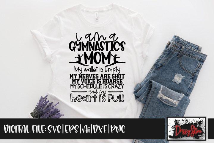 I am a Gymnastics Mom SVG DXF Ai EPS PNG