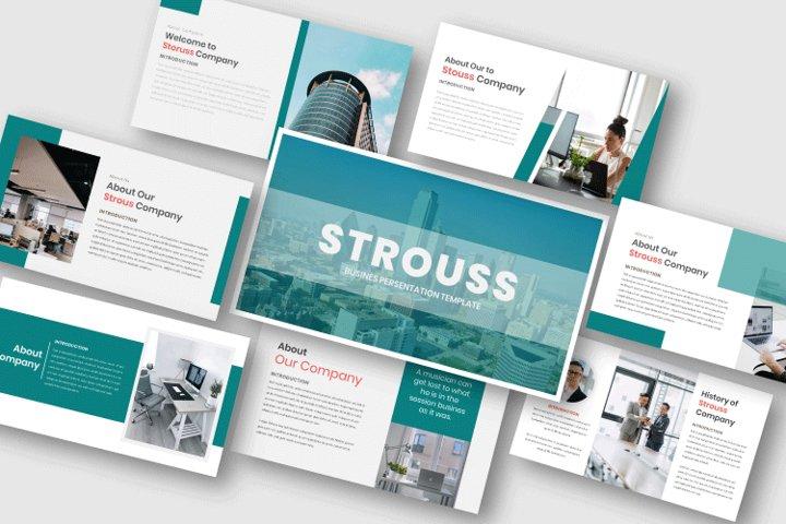 Strouss - Busines Keynote Template
