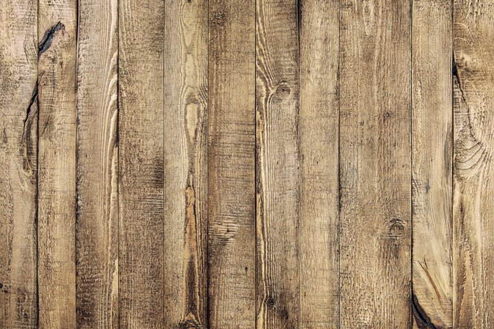 Wooden distressed background. Rustic wood plank
