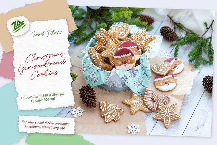 Christmas Beautiful Home made Gingerbread Cookies