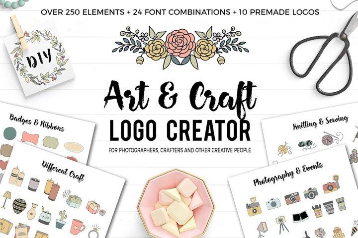 Art and Craft Logo Creator