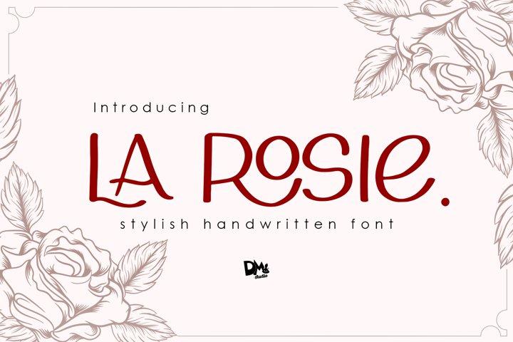 La Rosie - Stylish Handwritting Font