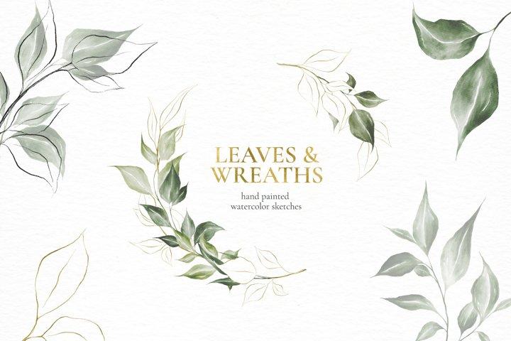 Leaves & Wreaths.