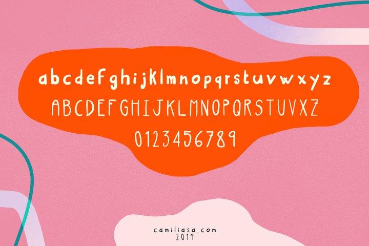 Blast - A joyful handwritten script font ! example 1