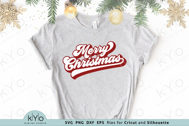 Merry Christmas Svg Dxf Png Eps Files