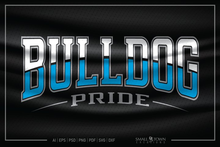 Bulldog, Bulldog Pride, Bulldog SVG, Bulldog Pride SVG