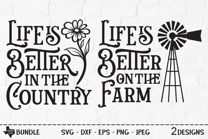 Country Farm Life, SVG Cut File, Country Shirt Design