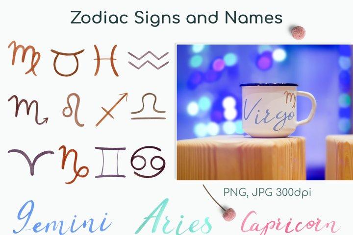 Watercolor Bulls Zodiac 2021 example 5
