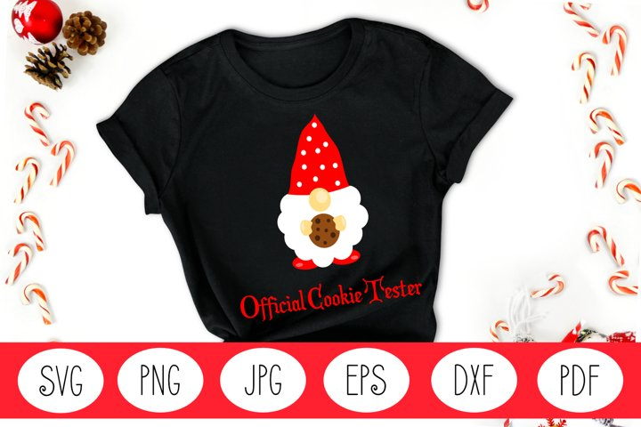 Gnome SVG | Christmas Gnome SVG | Christmas SVG | Cookie SVG