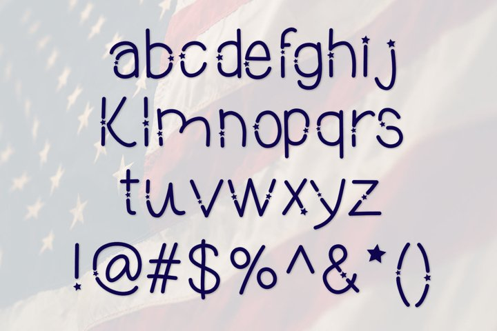 Heroes, A Patriotic Font - Free Font of The Week Design3